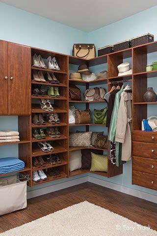 closet organizers custom closet systems  easy track