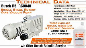 Free Download Program Busch Vacuum Pump Repair Manual