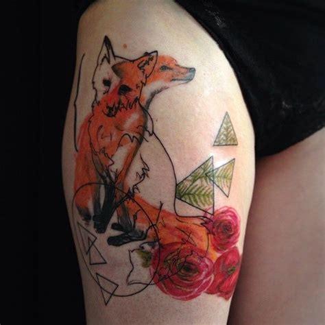 Tatouage De Renard Tattoo 11 Inkage