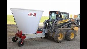 Skid Steer Mini Mixer A50 Tmr Mixer Demo