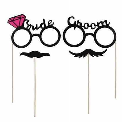 Props Groom Married Bride Booth Shoot Pre