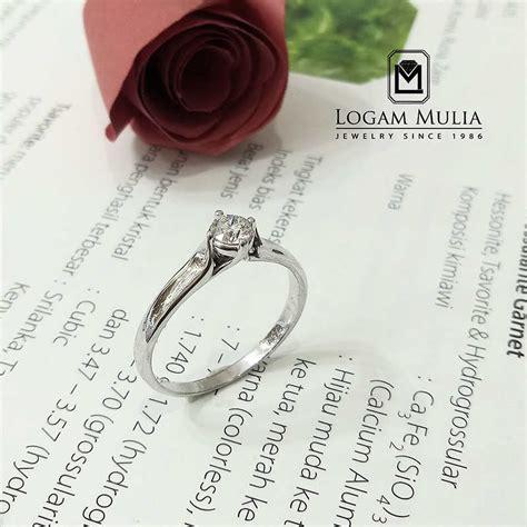 jual cincin wanita fashion jual cincin berlian wanita crw mj1595r r1 set
