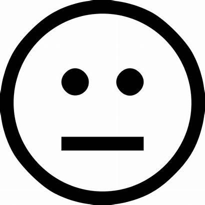 Sad Smiley Icon Neutral Icons Onlinewebfonts Svg