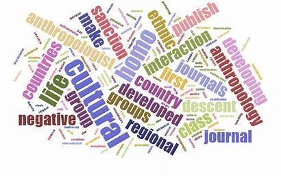 Anthropology Word Cloud Glossary Virtual Writing Tutor