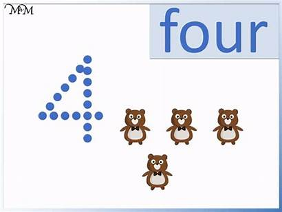 Number Writing Four Tracing Numbers Activity Mum