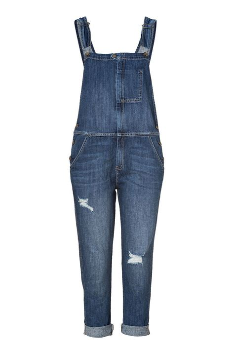 16 Denim Overalls   2013 Long Short Color Printed Overall