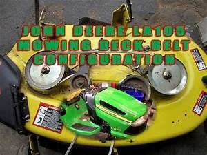 John Deere Lawn Tractor La105 Mowing Deck Belt
