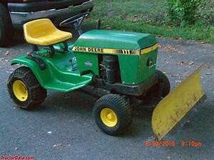 Tractordata Com John Deere 111h Tractor Photos Information