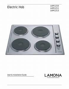 Lamona Black Enamel Electric Hob - Lam1213