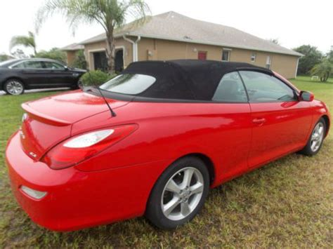 2008 Toyota Solara Convertible by Find Used 2008 Toyota Solara Sle Convertible In Vero