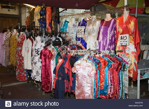Shop On Pagoda Street Selling Colourful Chinese Fashion