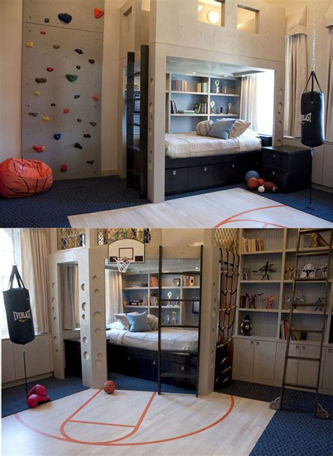 18 Cool Boys Bedroom Ideas by Oh My Look At This Boy S Sports Room Home