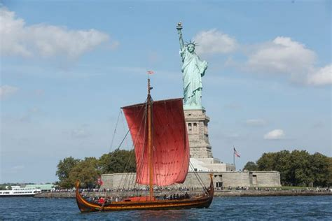 The Worlds Largest Viking Ship Sails Into New York