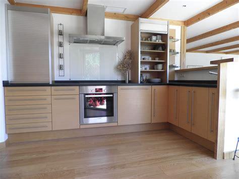 meuble de cuisine moderne en bois idees de decoration