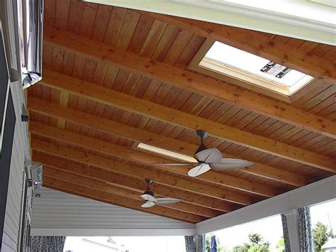 outdoor ceiling fan box want to install an outdoor ceiling fan directly to exposed