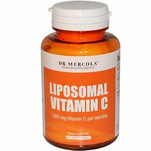 Dr. Mercola, Premium Supplements, Liposomal Vitamin C ...