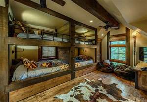 cozy bedroom ideas stunning cabin retreat brings rustic texan charm to lake tahoe