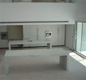 Marbre Blanc De Carrare : tables en marbre blanc carrare marbrerie proven ale ~ Dailycaller-alerts.com Idées de Décoration