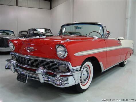 1956 Chevrolet Belair Convertible — Daniel Schmitt & Company