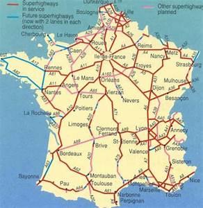 Les Autoroutes En France : carte france distance ~ Medecine-chirurgie-esthetiques.com Avis de Voitures