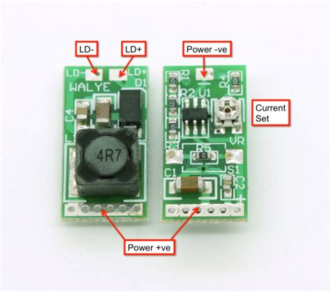 Boost Driver Board For Blue Laser