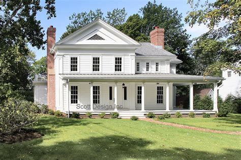 New 1850's Greek Revival Farmhouse