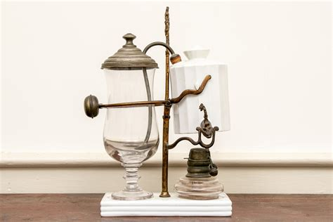But as in all things coffee, the renaissance of interest in vacuum pots also renewed interest in the balance siphon. Antique Belgium Balance Siphon Coffee Maker #100717 ...