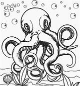 Octopus Coloring Pages Printable Realistic Cool2bkids Adult Baby Colouring Animal Print Queer Template Colorings Octopuses Getcolorings Colors Mandala Drawing Getdrawings sketch template