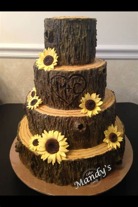 tree cake tree stump fall cake cakes pinterest fall cakes sun and tree cakes