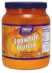 Now Egg White Protein Powder