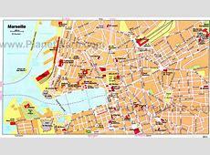 Cartograffr Carte de Marseille