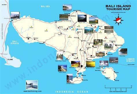 stadtplan von bali detaillierte gedruckte karten von