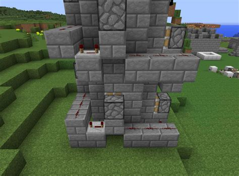 How To Make A Boat Elevator In Minecraft Pe by The Fastest Way To The Top How To Build A Redstone