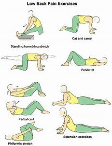 Lower Back Pain Remedies and Exercises