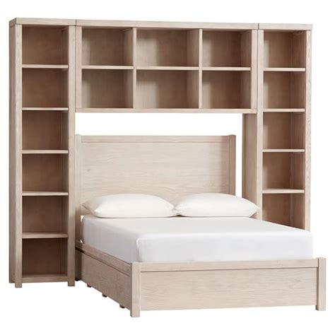 around bed storage costa storage bed superset pbteen