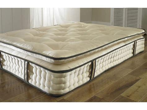 best organic mattress pillow top 2000 pocket 30cm organic mattress