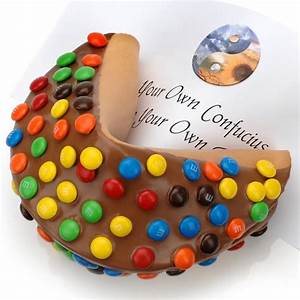 M&M Madness Personalized Giant Fortune Cookie