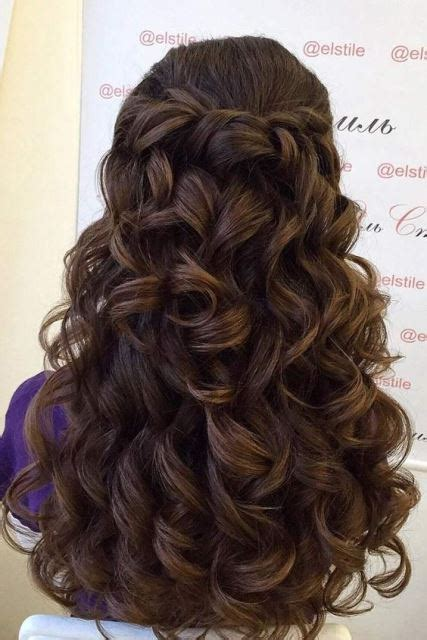 Quinceanera Hairstyles With Curls by Quinceanera Hairstyles Hairstyle In 2019