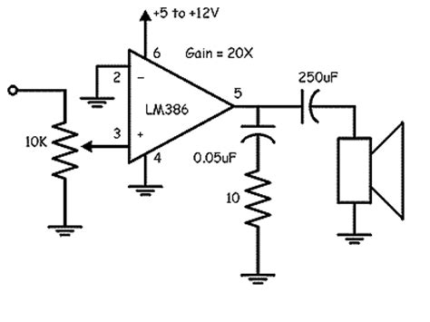 Project Expo Low Power Amplifier Circuit Using
