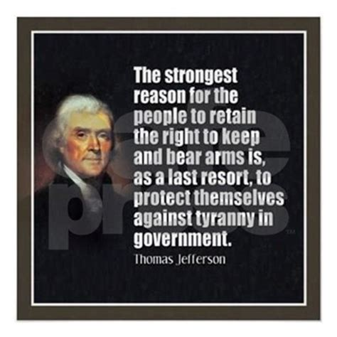 He was a statesman and recognized as one of the founding fathers of… 2nd Amendment Quote- Thomas Jefferson Sticker (Oval) 2nd Amendment Quote- Thomas Jefferson ...