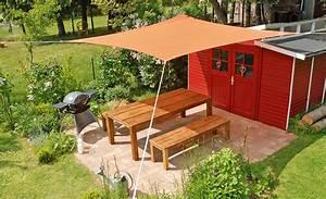 Sonnensegel Selber Bauen : sonnensegel spannen garten balkon ~ Lizthompson.info Haus und Dekorationen