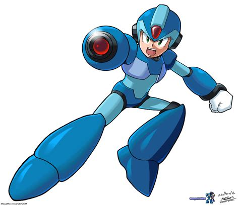 Mega Man X By Gregarlink10 On Deviantart