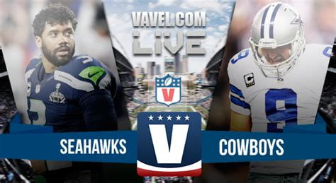score dallas cowboys  seattle seahawks  nfl preseason