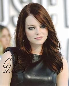 Celebrity Fashion World: Emma Stone Hairstyles 2012
