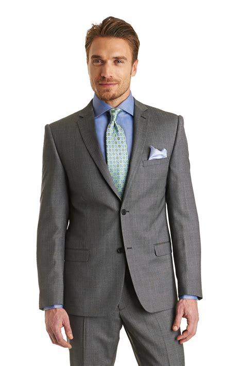 what color suit for what color shirt to wear with grey suit suit la