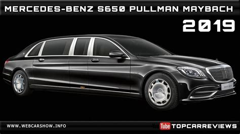 2019 Mercedes-benz S650 Pullman Maybach Review Rendered