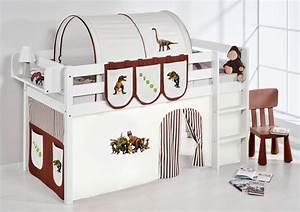 Vorhang über Bett : spielbett hochbett kinderbett kinder bett jelle 190x90 cm vorhang nach wahl ebay ~ Markanthonyermac.com Haus und Dekorationen