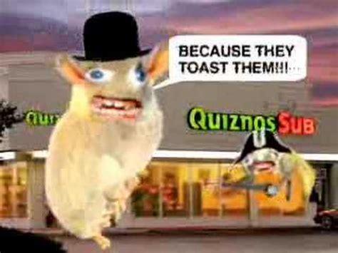 Quiznos Spongmonkeys We Love The Subs ad - YouTube