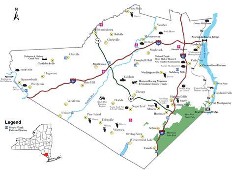 maps charts visit orange county ny