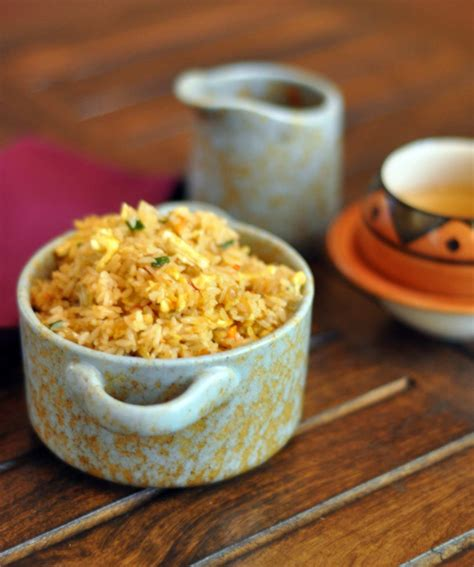 spicy schezwan indo chinese egg fried rice recipe